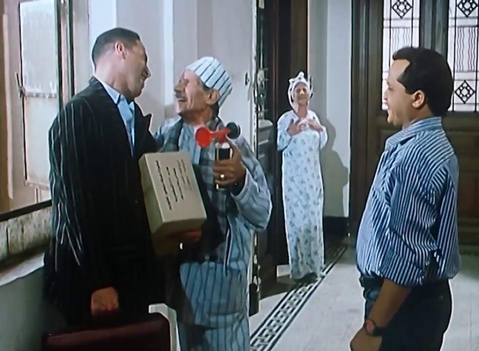 صورة 1 من فيلم صاحب صاحبه - محمد هنيدي - فوزية عبد العليم - محمد يوسف (2) - أشرف عبد الباقي -