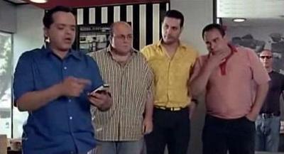 صورة 36 من فيلم عندليب الدقي - أحمد الحلواني - حمادة بركات - محمد السعدني - محمد هنيدي -
